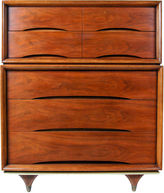 One Kings Lane Vintage 1960s Kent Coffey Tall Walnut Dresser