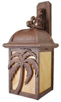 Penfield 3-Light Outdoor Wall Lantern Alcott Hill Finish: Architectural Bronze