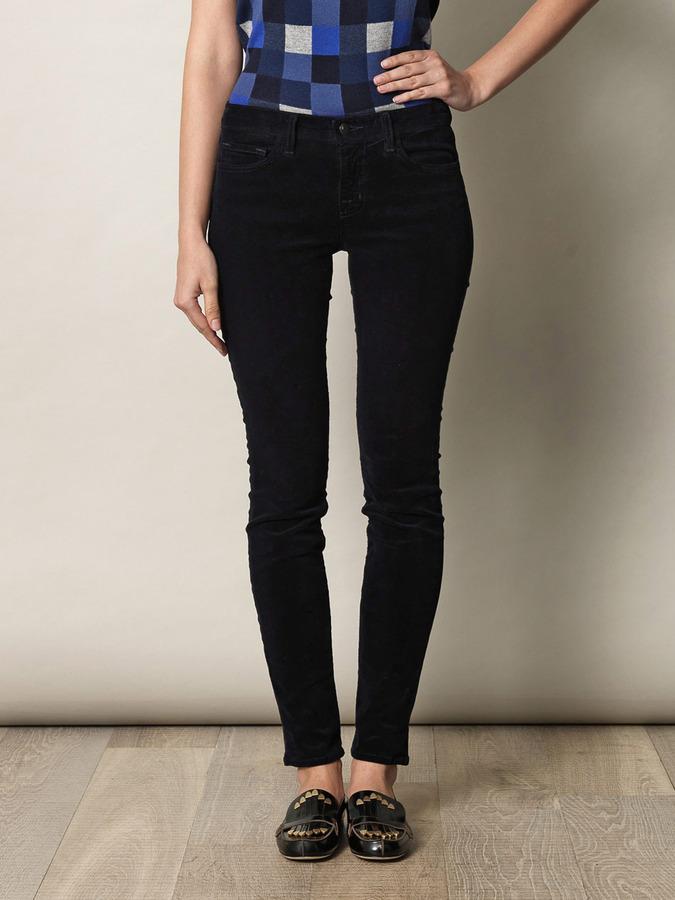 J Brand 511 mid-rise skinny corduroy trousers