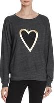 Nation Ltd. Heart Raglan Sweatshirt - 100% Exclusive