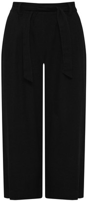 M&Co Spirit cropped linen trousers