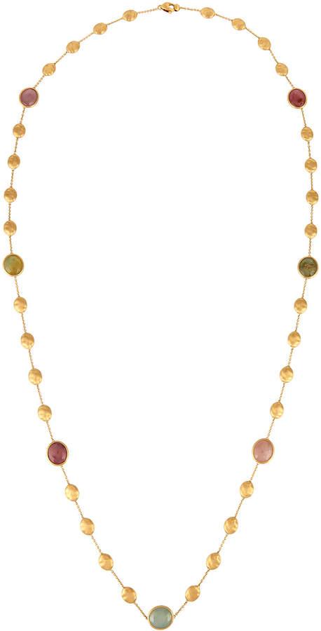 """Marco Bicego Siviglia 18k Multicolor Sapphire Station Necklace, 36""""L"""