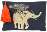 Figue flying elephant pouch - women - Cotton - One Size