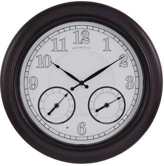FirsTime & Co Luminous Led Outdoor Clock