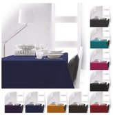 Today 256201 Polyester Tablecloth 140 x 200 cm, polyester, Ciel d'orage/Bleu Marine, 140x200 cm