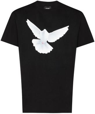 3paradis x Homecoming bird-print T-shirt