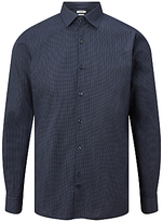 J. Lindeberg Daniel Mini Print Shirt, Power Blue