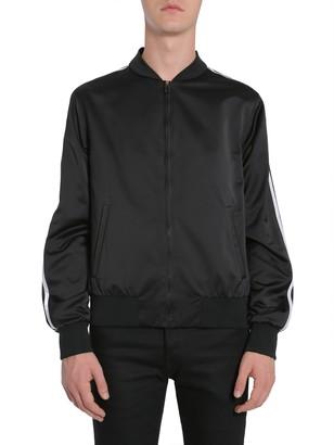 Versace Back Embroidered Bomber Jacket