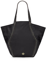 Oryany Narelle Leather-Trimmed Nylon Tote