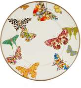 Mackenzie Childs MacKenzie-Childs Butterfly Garden Salad Plate (20cm), White