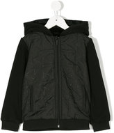 Karl Lagerfeld zipped hooded jacket