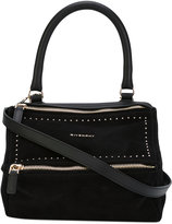 Givenchy small Pandora tote - women - Cotton/Leather/Suede - One Size