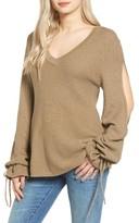 Somedays Lovin Women's Split Sleeve Sweater