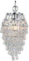 AF Lighting Crystal Teardrop Mini Chandelier