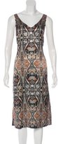Clover Canyon Printed Midi Dress
