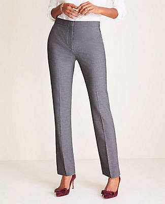 Ann Taylor The Petite Straight Pant in Bi-Stretch