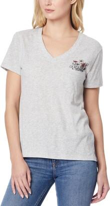 Judy V-Neck Pocket T-Shirt