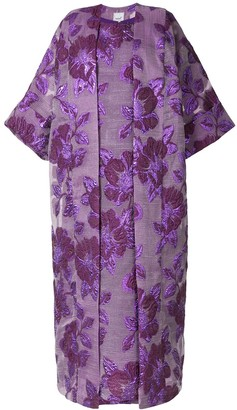 Isabella Collection floral print kaftan and dress