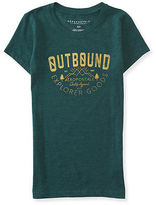 Aeropostale Womens Outbound Aero Graphic T Shirt