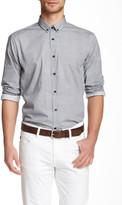 Lindbergh Printed Long sleeve Slim Fit Shirt
