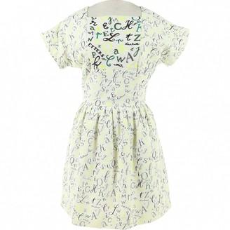 Olympia Le-Tan Olympia Le Tan White Cotton Dress for Women