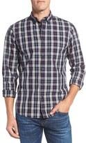 Nordstrom Men's Trim Fit Plaid Sport Shirt