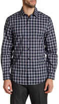 Perry Ellis Plaid Long Sleeve Regular Fit Shirt