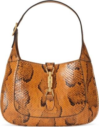 Gucci Jackie 1961 python small hobo bag