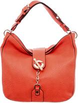 Melie Bianco Orange Hobo Bag