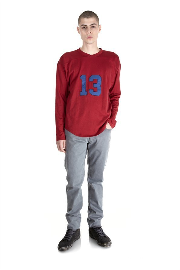 Marc by Marc Jacobs Silk Cotton Jersey Crewneck