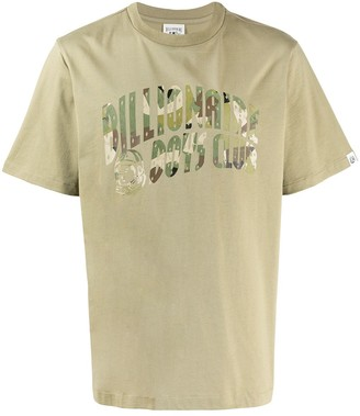 Billionaire Boys Club camouflage logo T-shirt