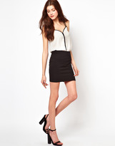 Vero Moda Body-Conscious Mini Skirt