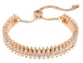 "Jessica Simpson Stone Friendship Bracelet, 10.5"" adjustable"