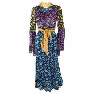 Rixo Multicolour Silk Dresses