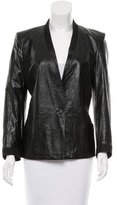 Helmut Lang Leather Structured Jacket