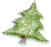 Julia Knight Holly Sprig 16-Inch Tree Platter in Mojito