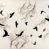 Crow Natural Linen Tablecloth