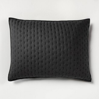 Cashmere Blend Quilted Pillow Sham - CasalunaTM