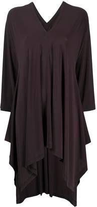 Issey Miyake V-Neck Shift Dress