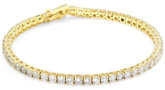 Fallon Grace Goldtone & Cubic Zirconia Tennis Bracelet