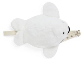 Yves Salomon Enfant Rex Rabbit Fur Seal Bag
