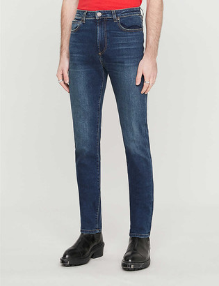 Monfrère Brando slim-fit cotton-blend denim jeans