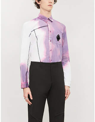 A-Cold-Wall* Abstract-pattern slim-fit cotton shirt