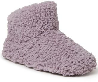 Dearfoams Fluffy Fleece Bootie Slipper