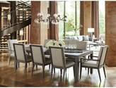 Lexington Santana 9 Piece Extendable Dining Set Upholstery Color: Beige