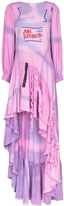 Collina Strada x Browns 50 Garden tie-dye maxi dress