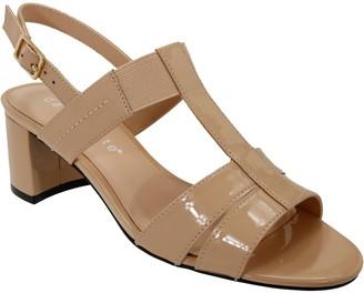 David Tate Dressy T-Strap Sandals - Secret