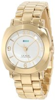 La Mer Women's LMODYSSEYLINK001 Gold Mini Linked Odyssey Watch