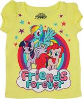 "Freeze My Little Pony """"Friends Forever"""" Girls Toddler Shirt"""