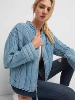 Gap Quilted Jacket in TENCEL